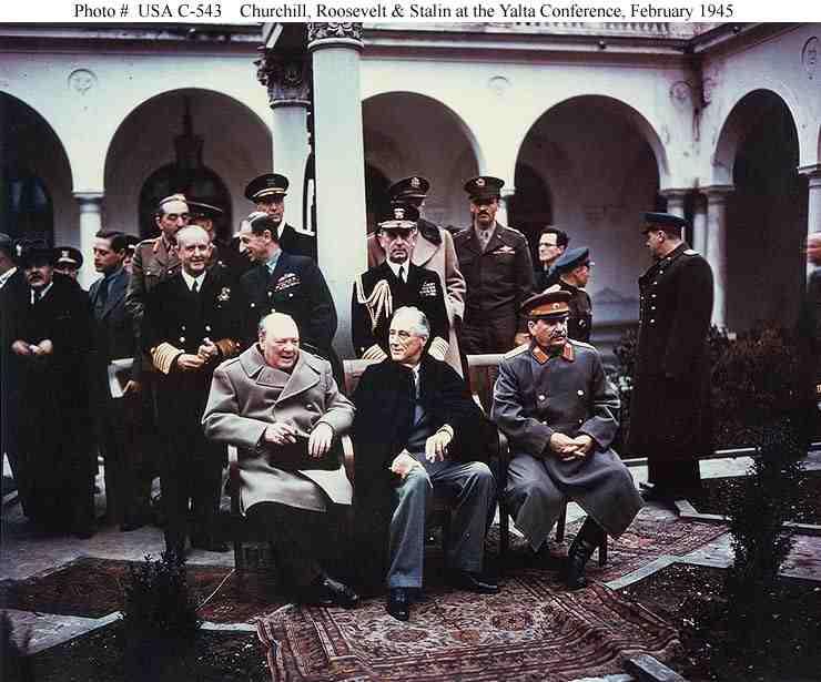 Roosevelt mit Zigarette