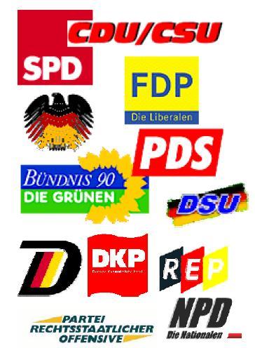 BRD-Lizenz-Parteien